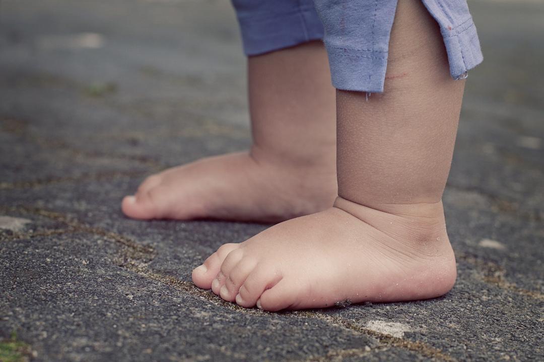 صافی کف پای کودکان