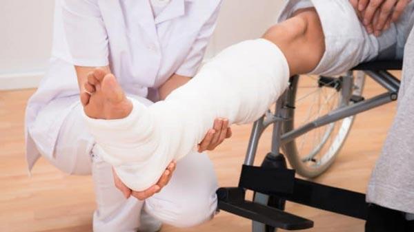 عوارض ناشی از شکستگی های استخوان