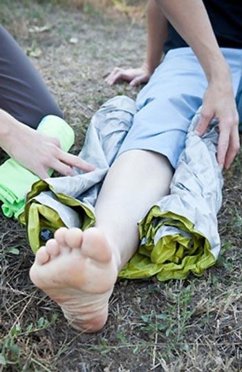 درمان اولیه شکستگی استخوان